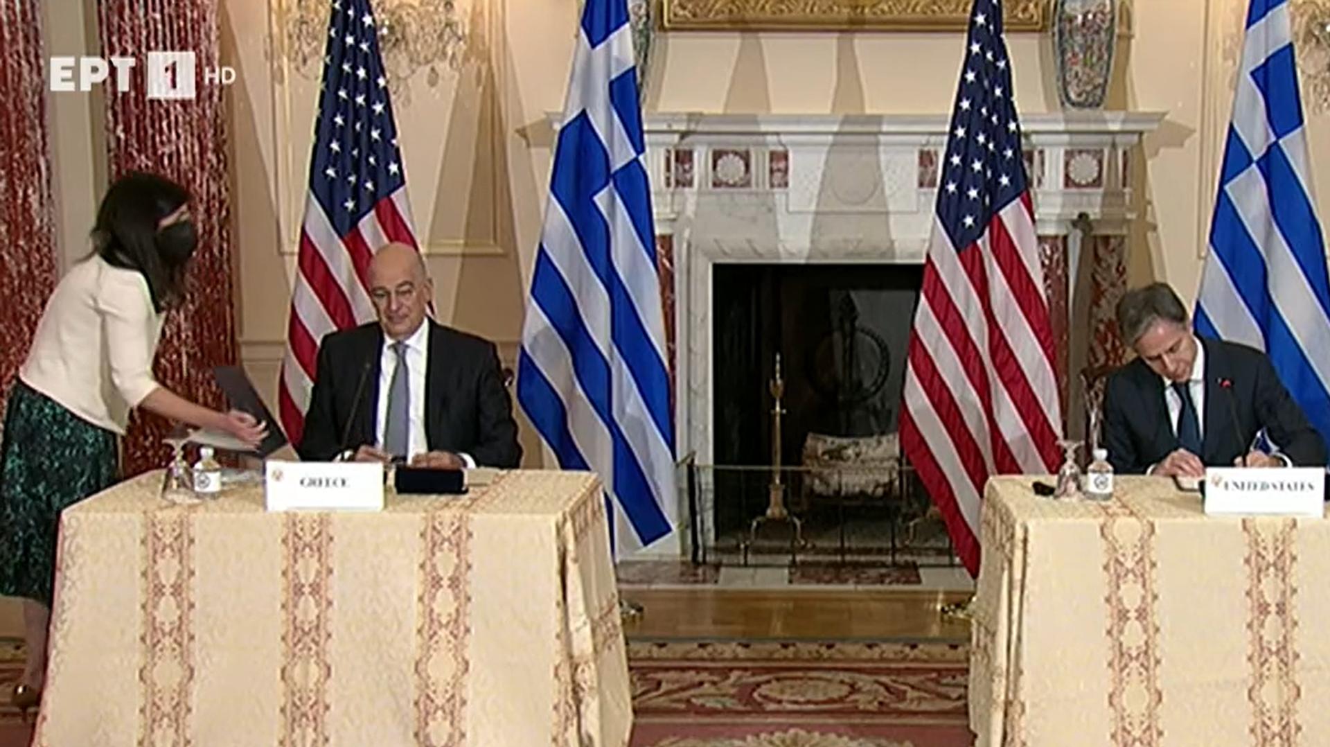 Μπλίνκεν - Δένδιας ελληνοαμερικανική συμφωνία - Sputnik Ελλάδα, 1920, 14.10.2021