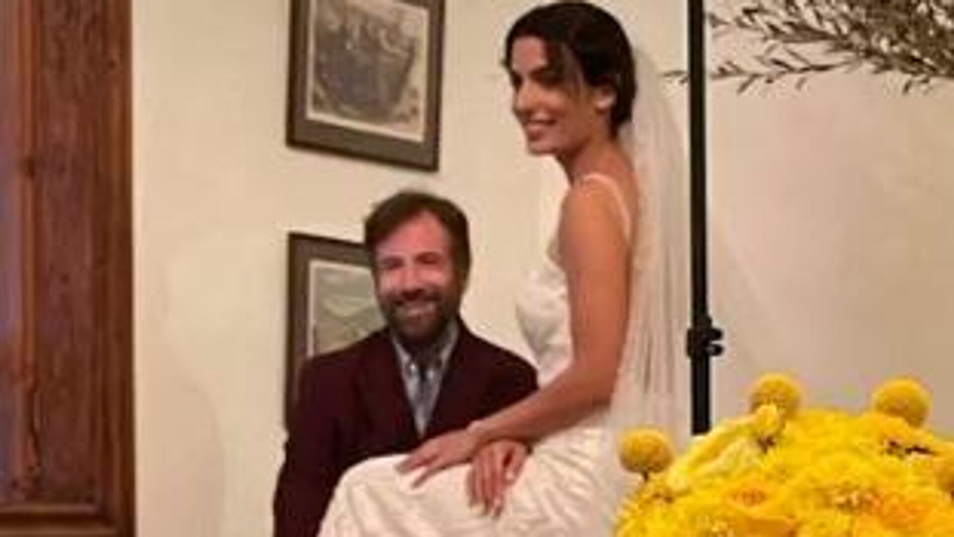 Story από τον γάμο του ζευγαριού - Sputnik Ελλάδα, 1920, 14.10.2021