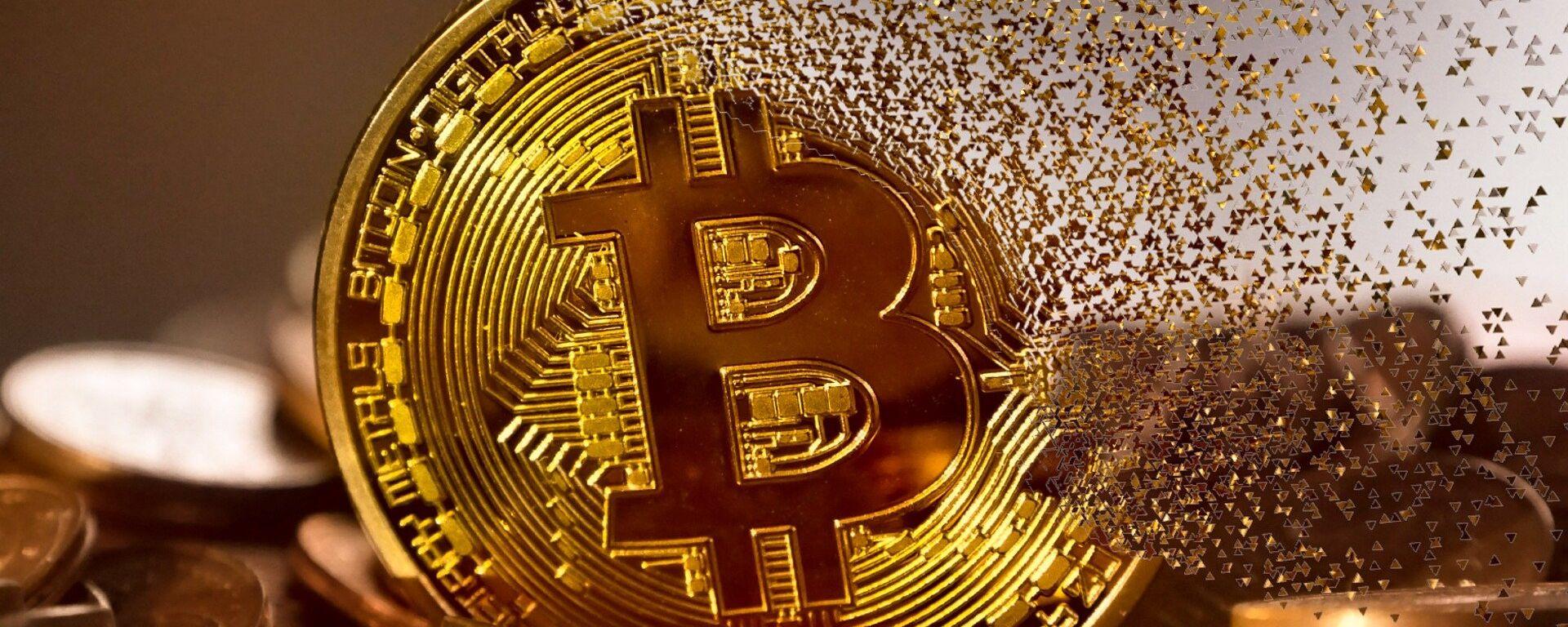 Bitcoin digital currency - Sputnik Ελλάδα, 1920, 13.08.2021