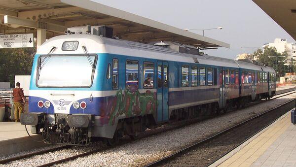 Τρένο του ΟΣΕ - Sputnik Ελλάδα