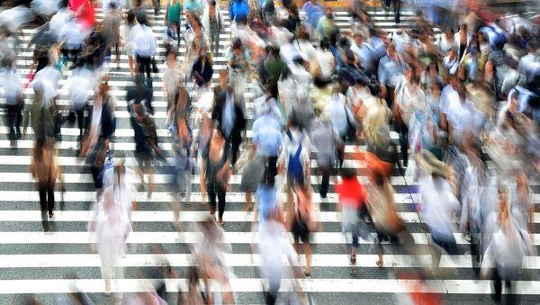 Άνθρωποι στον δρόμο. - Sputnik Ελλάδα