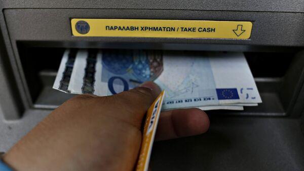 Ανάληψη μετρητών από ATM - Sputnik Ελλάδα
