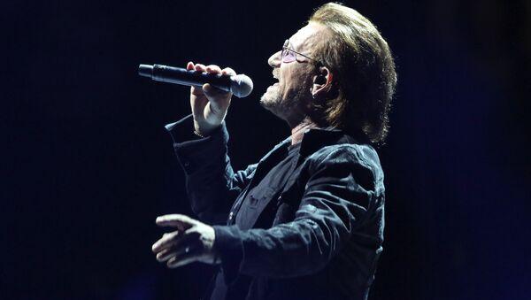O τραγουδιστής των U2, Μπόνο - Sputnik Ελλάδα