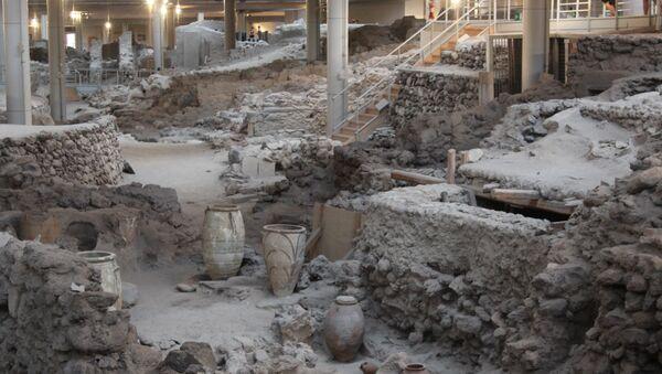 Ο Αρχαιολογικός Χώρος Ακρωτηρίου Σαντορίνης - Sputnik Ελλάδα