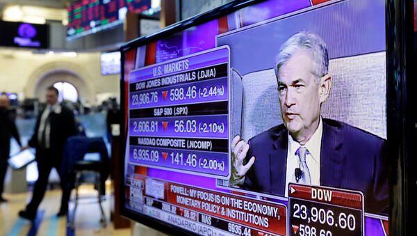 Ο επικεφαλής της Federal Reserve, Τζερόμ Πάουελ - Sputnik Ελλάδα