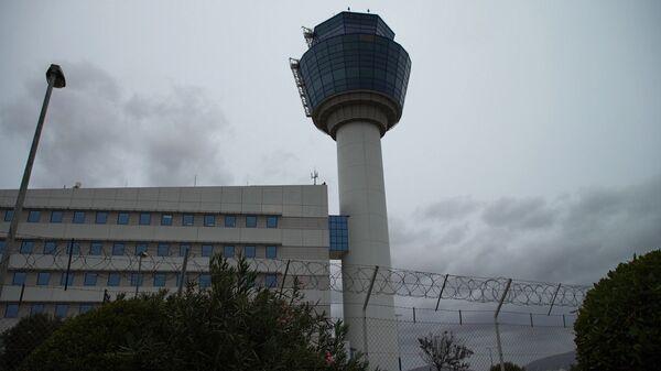 Πύργος ελέγχου του αεροδρομίου «Ελευθέριος Βενιζέλος» - Sputnik Ελλάδα