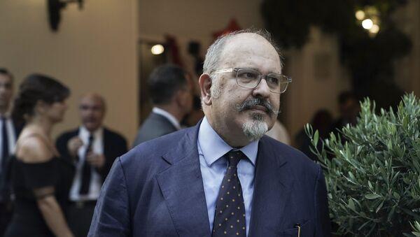 Ο Νίκος Ξυδάκης κοινοβουλευτικός εκπρόσωπος του ΣΥΡΙΖΑ - Sputnik Ελλάδα