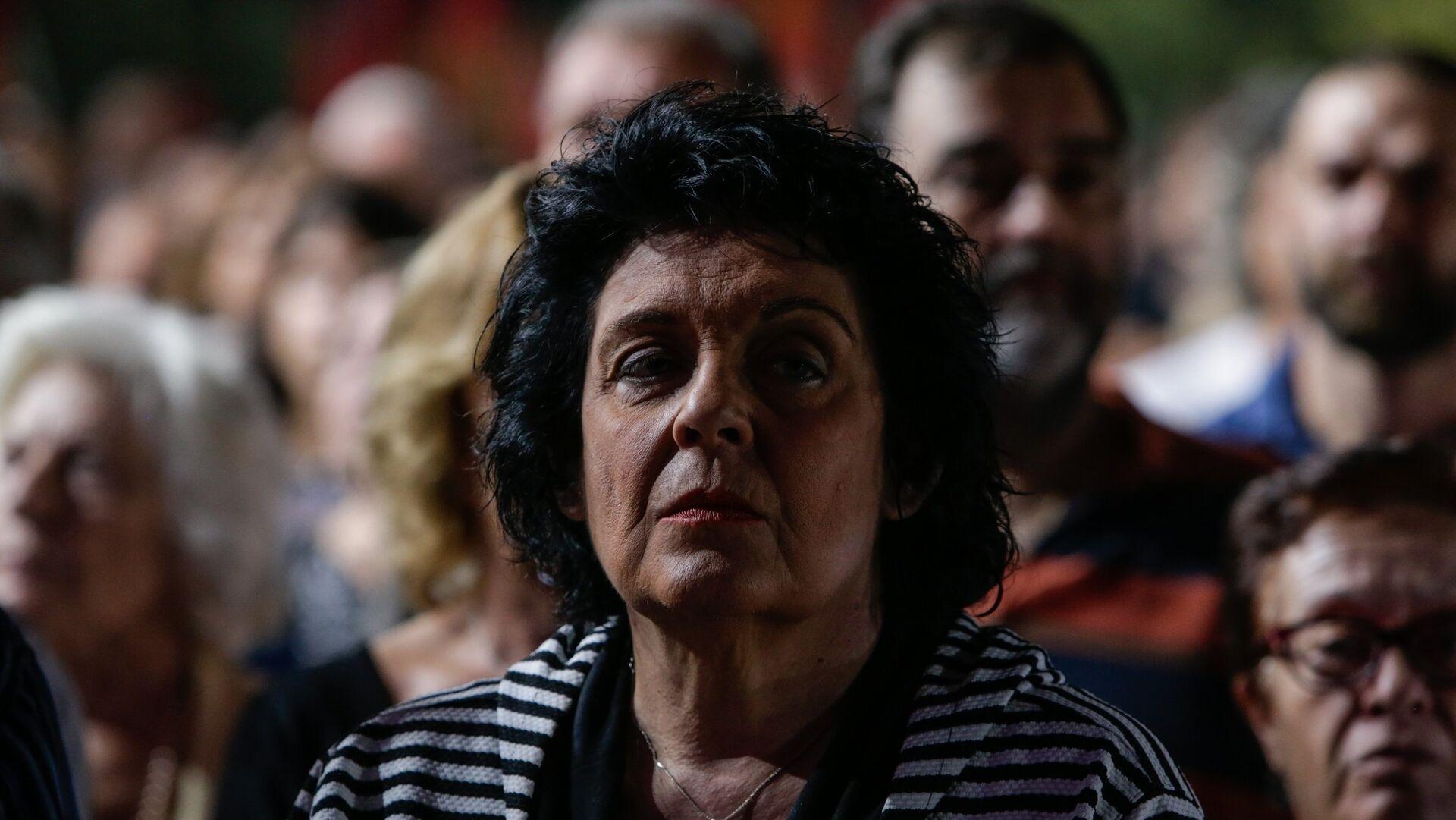 Η βουλευτής του ΚΚΕ Λιάνα Κανέλλη - Sputnik Ελλάδα, 1920, 07.10.2021