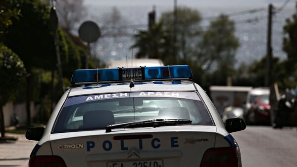 Περιπολικό σε αστυνομική επιχείρηση - Sputnik Ελλάδα