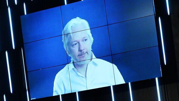 O ιδρυτής των WikiLeaks Τζούλιαν Ασάνζ - Sputnik Ελλάδα