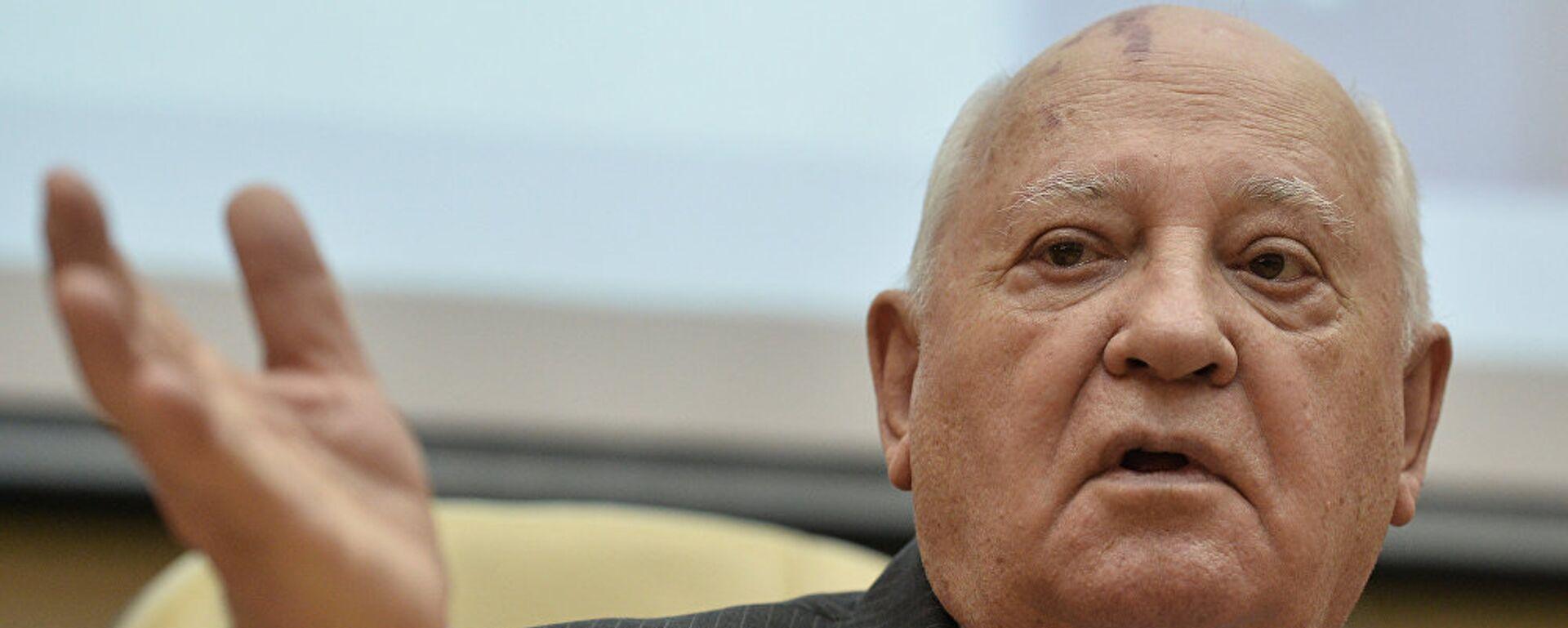 Ο τελευταίος ηγέτης της ΕΣΣΔ Μιχαήλ Γκορμπατσόφ - Sputnik Ελλάδα, 1920, 16.06.2021