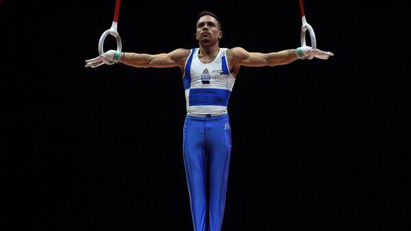 Ο Έλληνας πρωταθλητής των κρίκων και ολυμπιονίκης Λευτέρης Πετρούνιας - Sputnik Ελλάδα