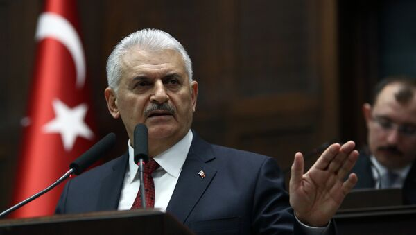 Ο Τούρκος πρωθυπουργός Μπιναλί Γιλντιρίμ - Sputnik Ελλάδα