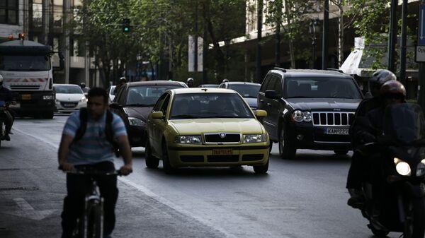 Κίνηση στην Αθήνα - Sputnik Ελλάδα