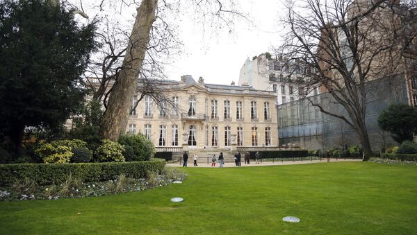 Οι κήποι και το κτήριο της πρωθυπουργικής κατοικίας στο Παρίσι - Sputnik Ελλάδα
