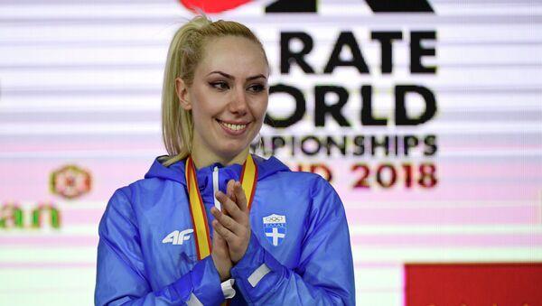 H παγκόσμια πρωταθλήτρια καράτε Ελένη Χατζηλιάδου - Sputnik Ελλάδα