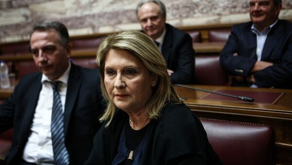 Η βουλευτής της Νέας Δημοκρατίας, Σοφία Βούλτεψη - Sputnik Ελλάδα