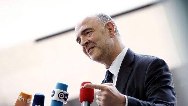 Ο Ευρωπαίος επίτροπος Οικονομικών Υποθέσεων, Πιερ Μοσκοβισί - Sputnik Ελλάδα