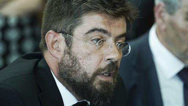 Ο υπουργός Δικαιοσύνης Μιχάλης Καλογήρου - Sputnik Ελλάδα