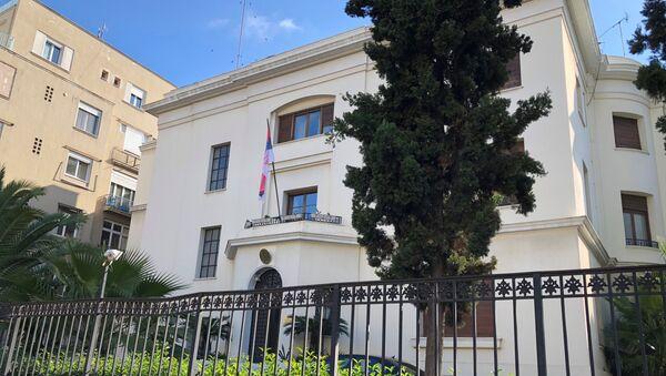 Το κτίριο της πρεσβείας της Σερβίας - Sputnik Ελλάδα