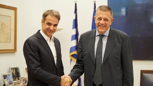 Ο Νίκος Ταχιάος υποψήφιος δήμαρχος Θεσσαλονίκης με τη ΝΔ - Sputnik Ελλάδα