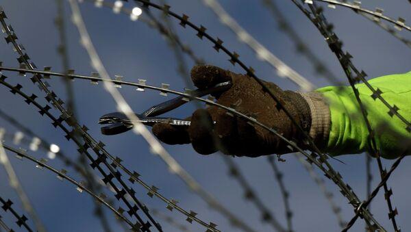 Κόψιμο συρματοπλέγματος - Sputnik Ελλάδα