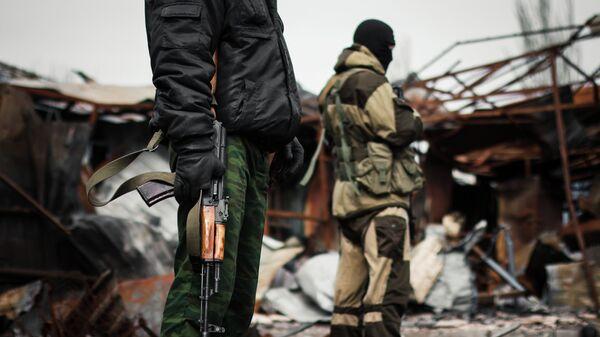 Μαχητές στο Ντονμπάς - Sputnik Ελλάδα