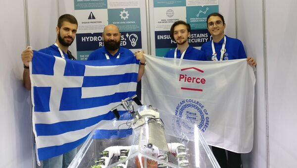 H ομάδα ρομποτικής του Pierce - Sputnik Ελλάδα