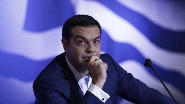 Συνέντευξη Τύπου του Αλέξη Τσίπρα - Sputnik Ελλάδα