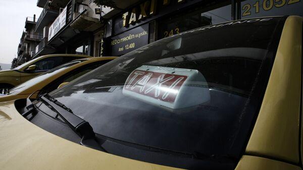 Απεργία των οδηγών ταξί - Sputnik Ελλάδα