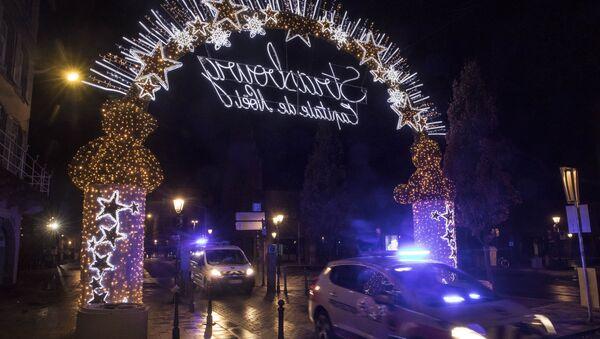 Επίθεση στο Στρασβούργο, Δεκέμβριος 2018 - Sputnik Ελλάδα