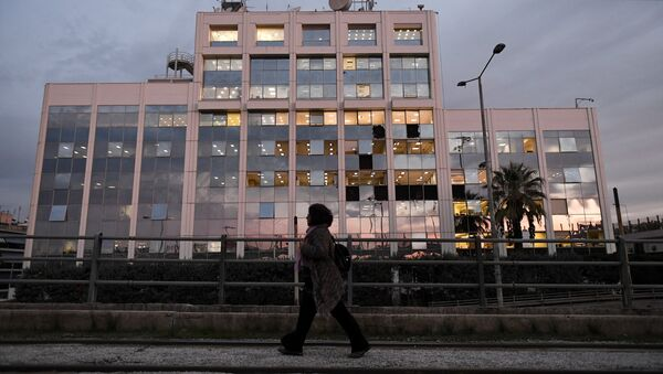 Βομβιστική επίθεση στα γραφεία του ΣΚΑΪ στο Φάληρο στις 17 Δεκεμβρίου, 2018 - Sputnik Ελλάδα