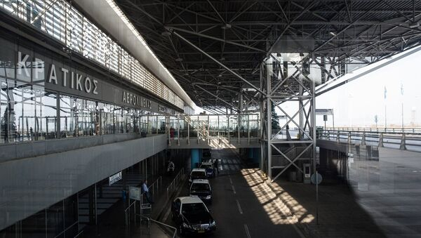 Αεροδρόμιο «Μακεδονία» στη Θεσσαλονίκη - Sputnik Ελλάδα