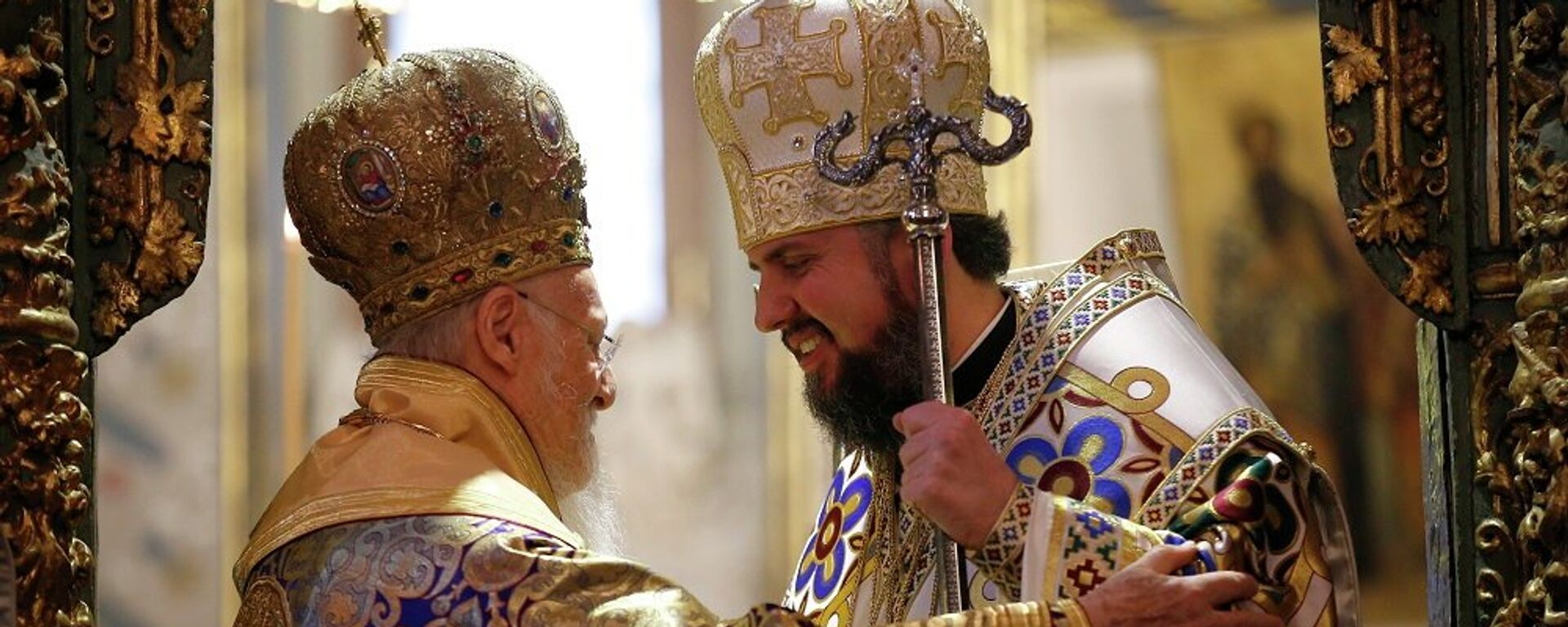 Ο Πατριάρχης Βαρθολομαίος και ο Επιφάνιος της Ουκρανίας - Sputnik Ελλάδα, 1920, 17.02.2020
