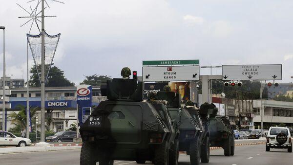 Στρατός στους δρόμους της Γκαμπόν το 2016 - Sputnik Ελλάδα