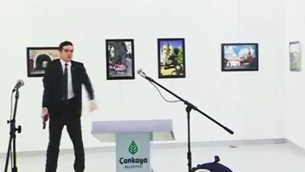 Δολοφονία του Ρώσου πρέσβη, Αντρέι Καρλόφ, στην Τουρκία - Sputnik Ελλάδα