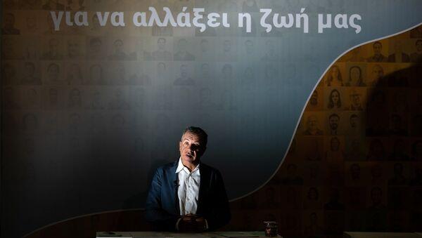 Ο επικεφαλής του Ποταμιού Σταύρος Θεοδωράκης - Sputnik Ελλάδα
