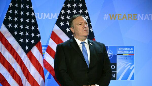Ο υπουργός Εξωτερικών των ΗΠΑ, Μάικ Πομπέο - Sputnik Ελλάδα