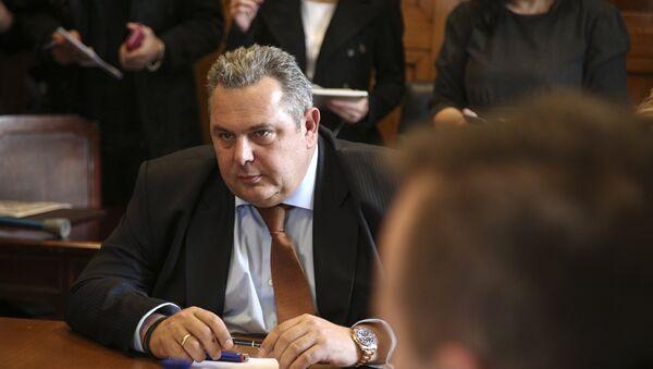 Ο Πάνος Καμμένος στη συνεδρίαση της ΚΟ των ΑΝΕΛ, Ιανουάριος 2018 - Sputnik Ελλάδα