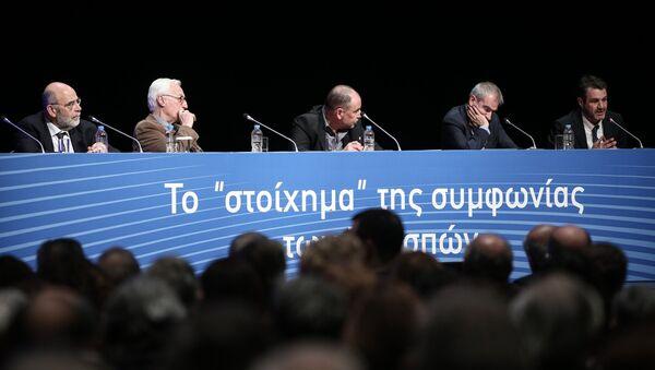 Το στοίχημα της Συμφωνίας των Πρεσπών - Sputnik Ελλάδα