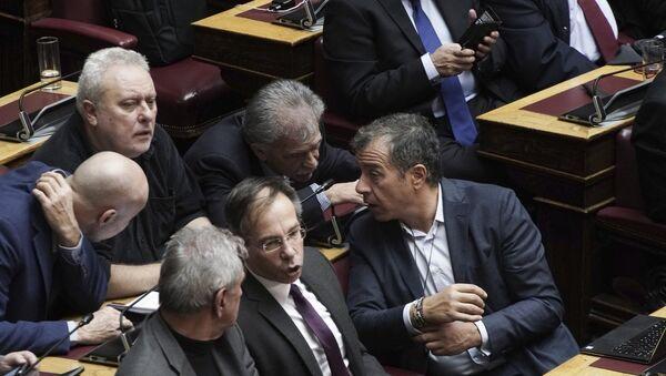 Κοινοβουλευτική ομάδα του Ποταμιού - Sputnik Ελλάδα