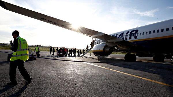 Αεροσκάφος της Ryanair - Sputnik Ελλάδα