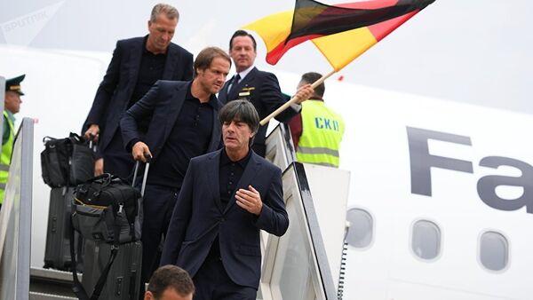 Γερμανία, Μουντιάλ 2018, άφιξη στη Μόσχα - Sputnik Ελλάδα