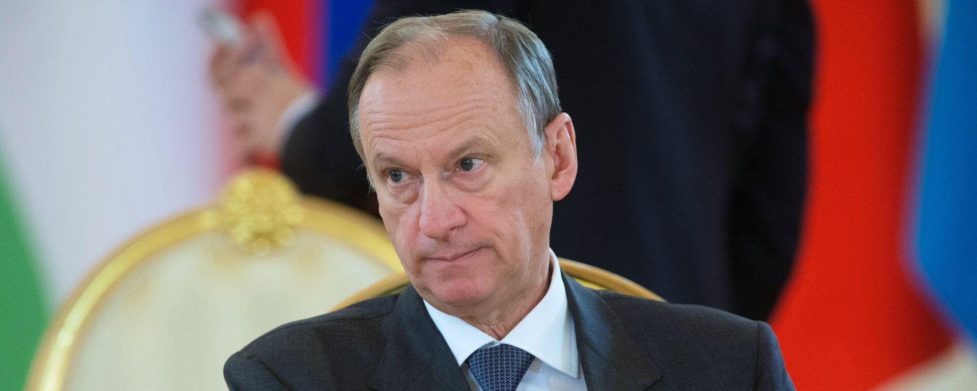 Ο επικεφαλής του ρωσικού Συμβουλίου Ασφαλείας, Νικολάι Πατρούσεφ - Sputnik Ελλάδα, 1920, 21.09.2021