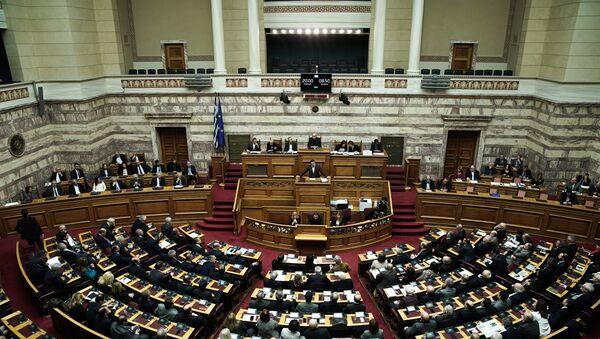 Συζήτηση για την ψήφο εμπιστοσύνης, Βουλή, 15 Ιανουαρίου 2019 - Sputnik Ελλάδα