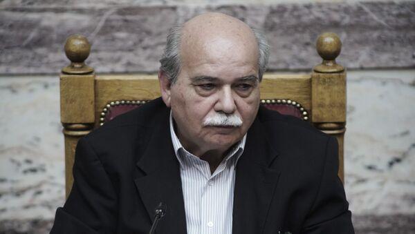 Ο πρόεδρος της Βουλής Νίκος Βούτσης - Sputnik Ελλάδα