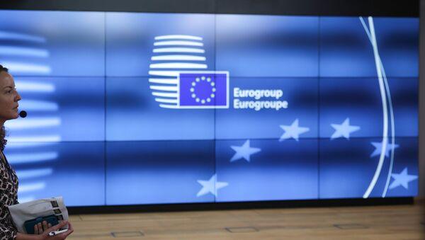 Συνεδρίαση των υπουργών οικονομικών της Ευρωομάδας στις Βρυξέλλες - Sputnik Ελλάδα