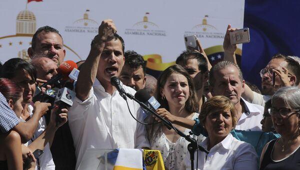 Ο ηγέτης της αντιπολίτευσης στη Βενεζουέλα, Χουάν Γκουάιδο - Sputnik Ελλάδα