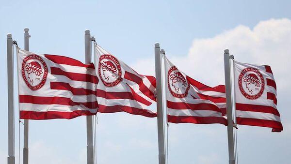 Σημαίες Ολυμπιακού - Sputnik Ελλάδα