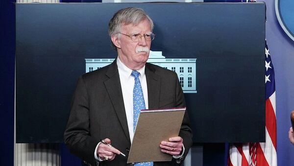 Ο σύμβουλος εθνικής ασφαλείας του Ντόναλντ Τραμπ, Τζον Μπόλτον - Sputnik Ελλάδα